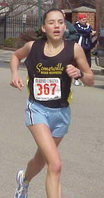 New Bedford runner up Caroline Dobbyn.