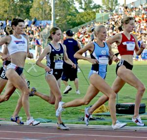 Women's Olympic Trial 5000m semi-final. Photo by G. Bridgman.
