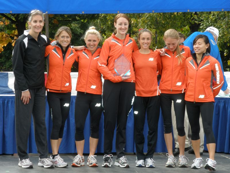 New Balance Boston won the team title for the second year (and the B team finished 7th) Photo: Steve Vaitones