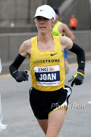 Joan Samuelson at 2009 NYC Marathon