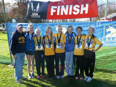 Three time winning girls team - Diamond Middle School of Lexington. (Photo: Steve Vaitones)