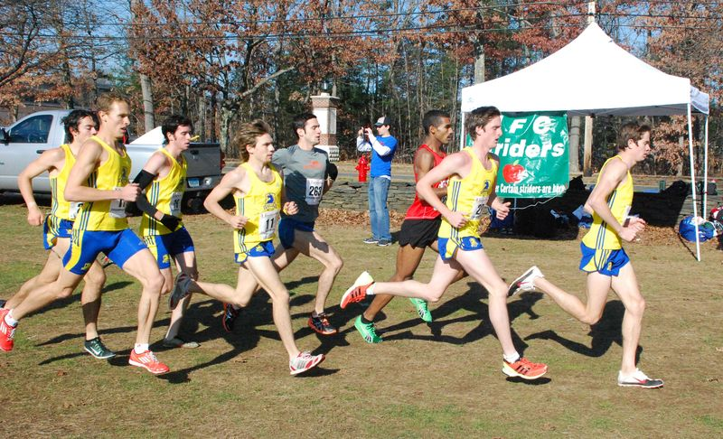 d10c4228349 Leaders at the USATF New England Cross Country Championships in Westfield  MA. (Photo
