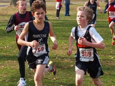Willem Landis (909) of Middlebury VT earned a spot on the Nationals starting line, placing 17th in the Midget Boys race at Regionals. (Photo: Angela Cobrin-Landis)