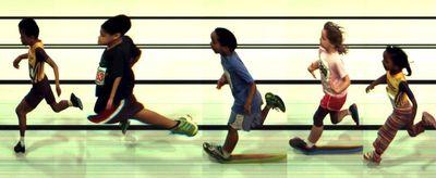 USATF-NE Youth 200 meter event; (FinishLynx photo)