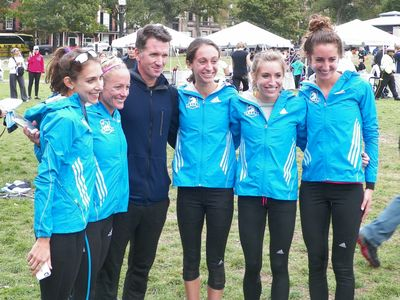 The B.A.A. won the USA National 10K Team Championship at the Tufts 10K for Women. (SV photo)