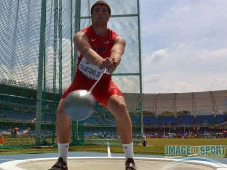 Bobby Colantonio placed 5th at the 2015 IAAF World Youth Championships in Cali Colombia. (photo: ImageOfSport.com)