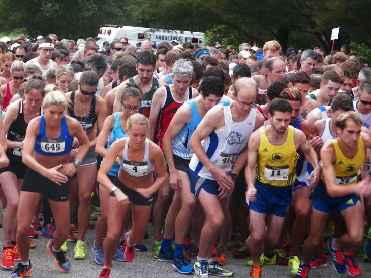 Start of the Bobby Doyle 5 Mile. (USATF-NE photo)
