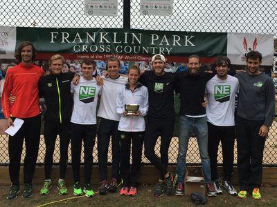 New England Distance, Men's 8K Team Champions (Photo: NEDistance)