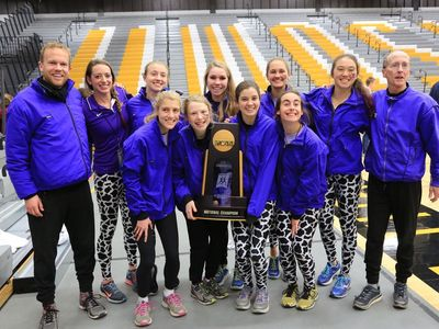 Williams College NCAA Cross Country Champions (Photo: Jim Harleen)