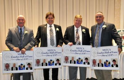 Mass. HS Coaches honored (Photo: MSTCA)