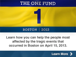 The One Fund - Boston 2013