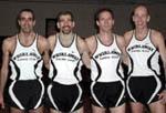 Whirlaway Racing Team: Cooney, Hammond, Martyn and Fram