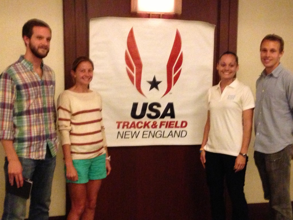 Congrats to four of our new USATF-NE officers