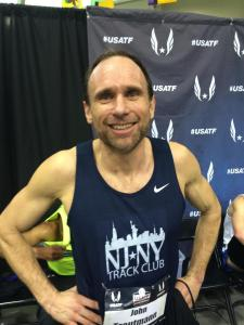 John Trautmann of NY-NJ Track Club
